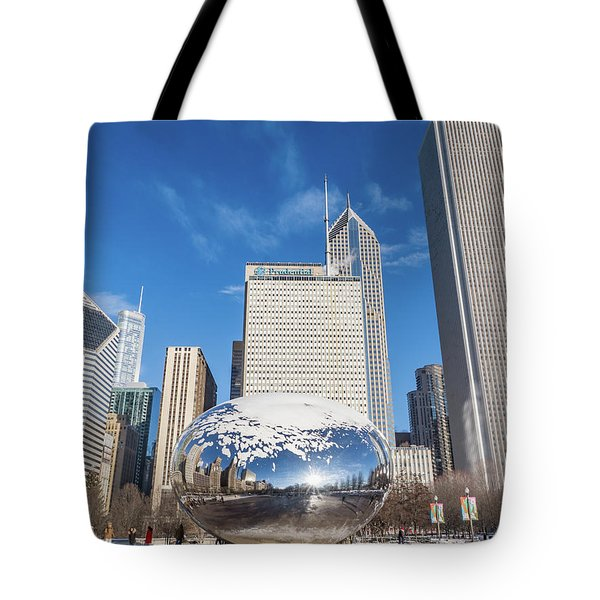 The Bean And The City Tote Bag