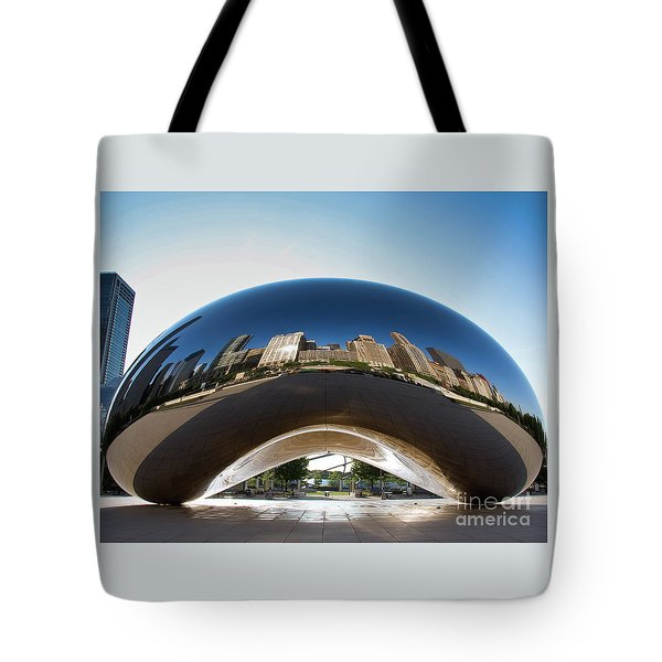 The Bean's Early Morning Reflections Tote Bag