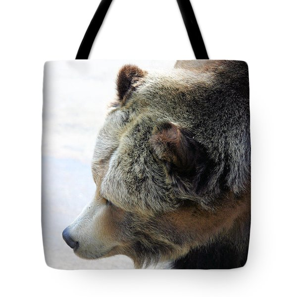 The Bear Tote Bag by Karol Livote