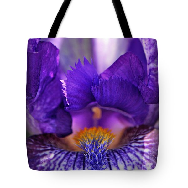 The Beard In The Iris Tote Bag