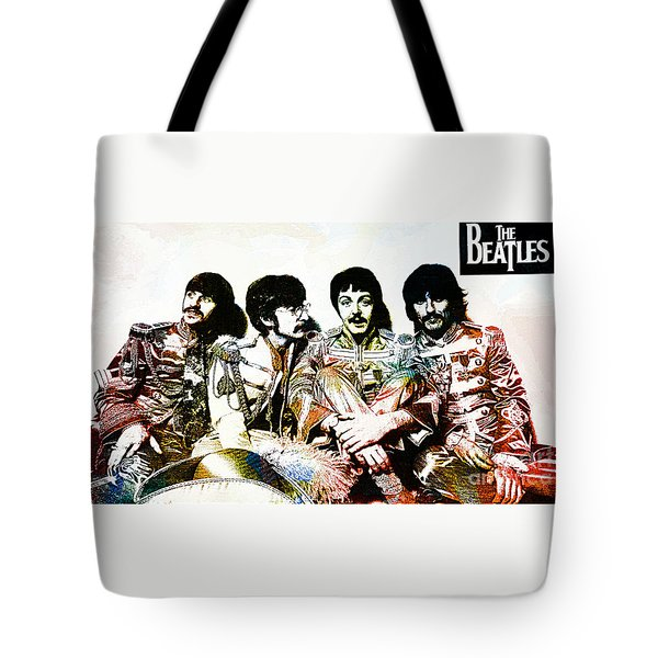 The Beatles--sargent Peppers Lonely Hearts Club Band Tote Bag