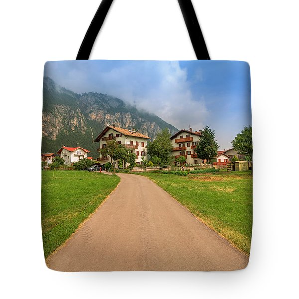Tote Bag featuring the photograph The Beautiful Dolomites by Roy McPeak