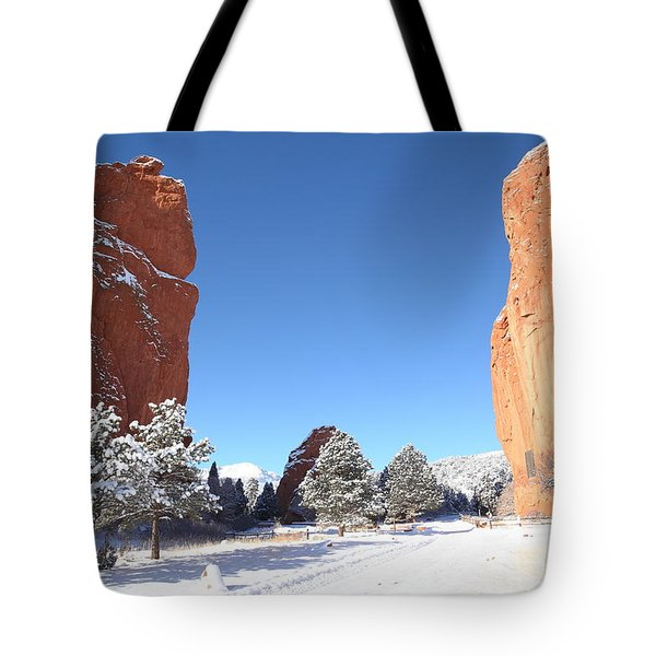 The Beautiful Gate Tote Bag by Eric Glaser