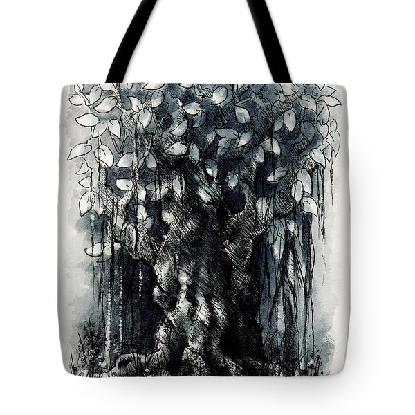 The Beautiful Tree Tote Bag by Rachel Christine Nowicki