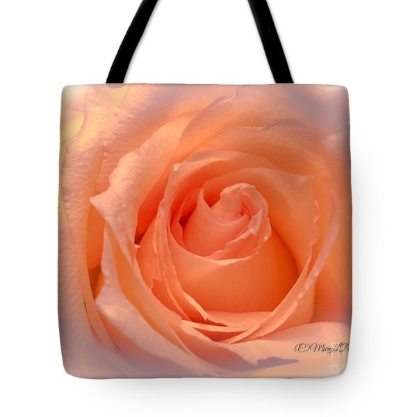 The  Beauty Of A Rose  Copyright Mary Lee Parker 17,  Tote Bag