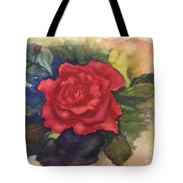 The Beauty Of A Rose Tote Bag by Lucia Grilletto