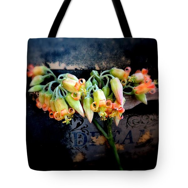 The Beauty Of A Succulent Tote Bag