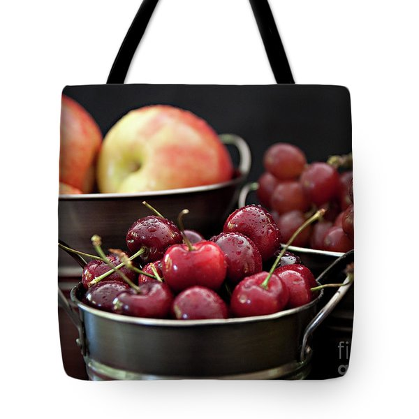 The Beauty Of Fresh Fruit Tote Bag