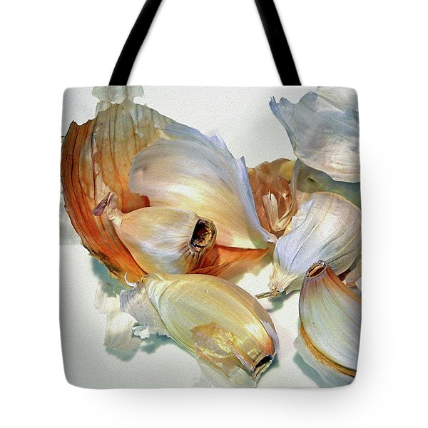 The Beauty Of Garlic Tote Bag