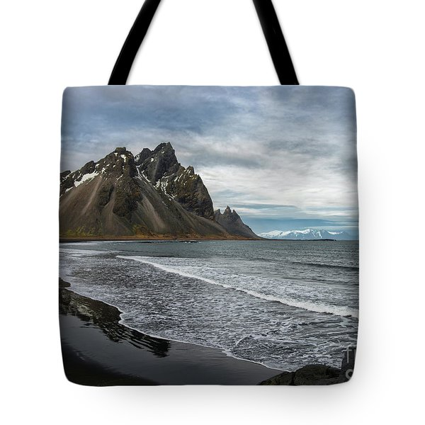 Tote Bag featuring the photograph The Beauty Of Iceland by Sandra Bronstein