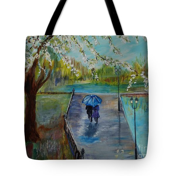 The Beauty Of It All Tote Bag by Leslie Allen