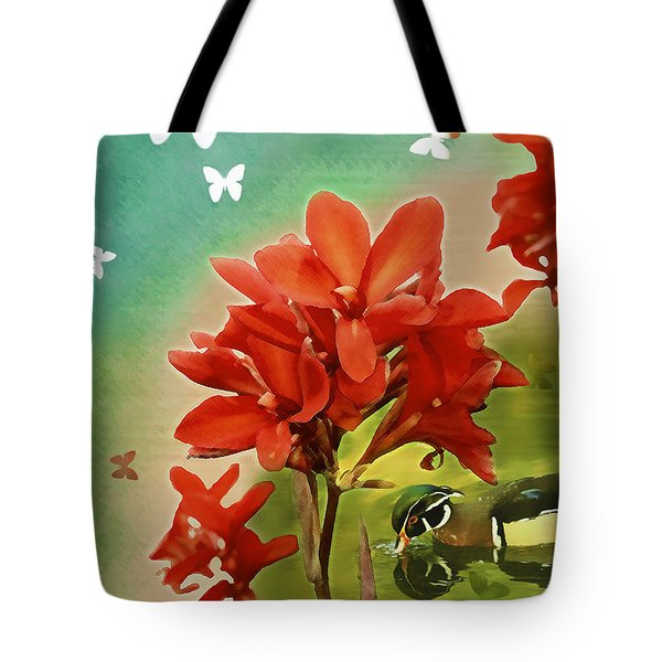 The Beauty Of Nature Tote Bag by Claudia Ellis