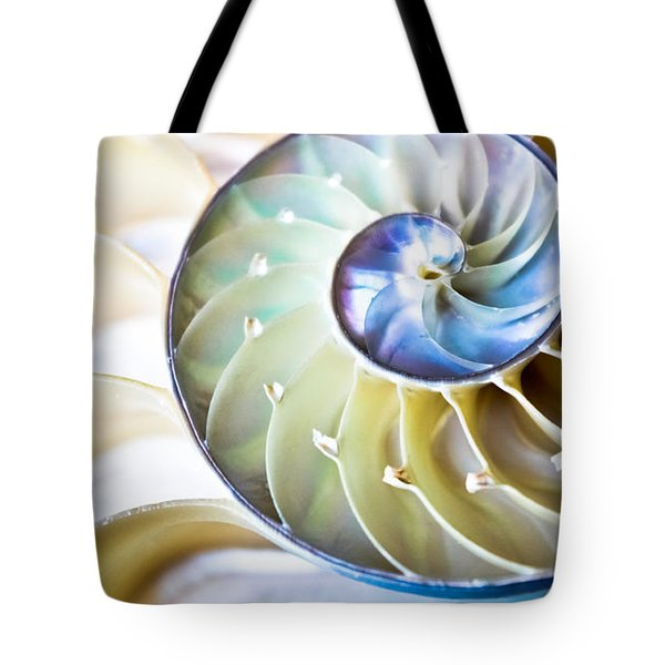 The Beauty Of Nautilus Tote Bag
