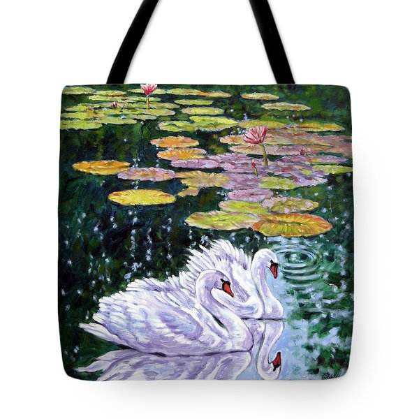 The Beauty Of Peace Tote Bag by John Lautermilch