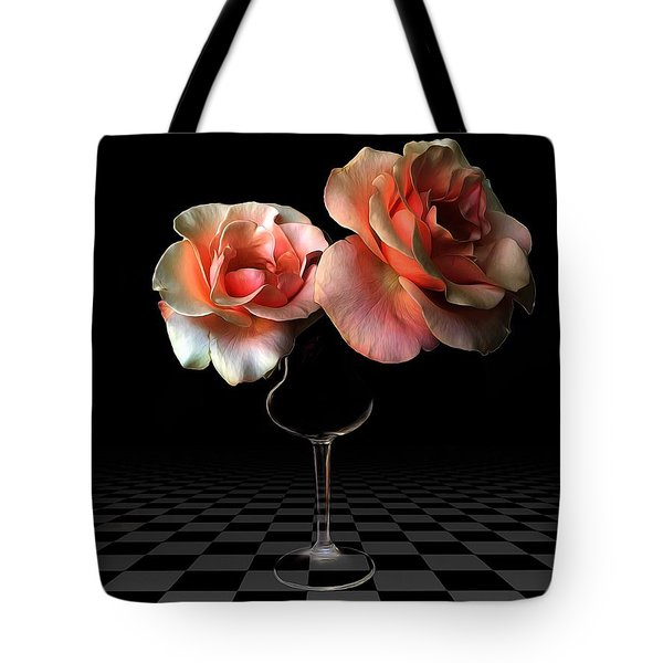 The Beauty Of Roses Tote Bag