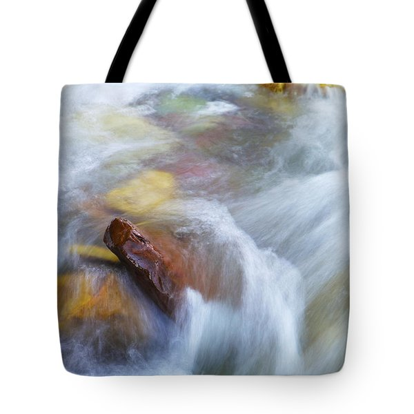 The Beauty Of Silky Water Tote Bag