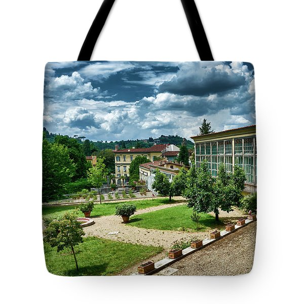 The Beauty Of The Boboli Gardens Tote Bag