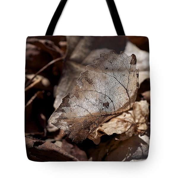 Tote Bag featuring the photograph The Beauty Of The End by Rona Black