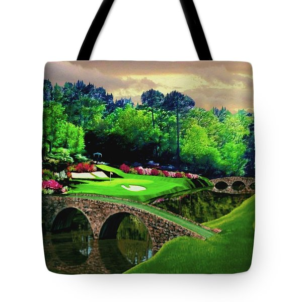 The Beauty Of The Masters Tote Bag