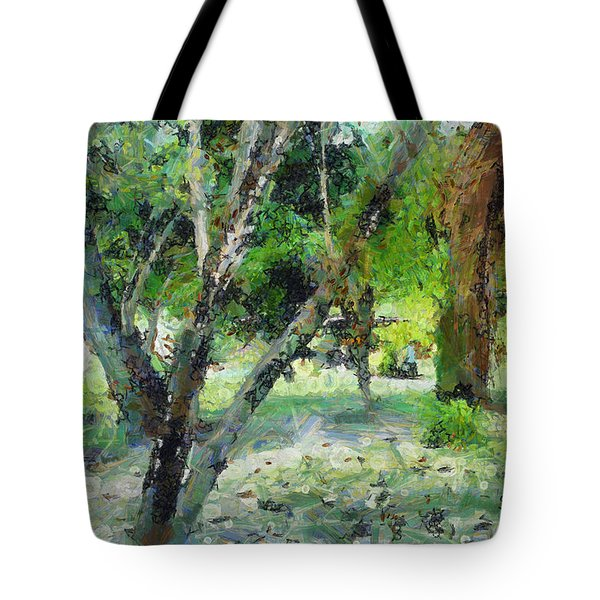 The Beauty Of Trees Tote Bag
