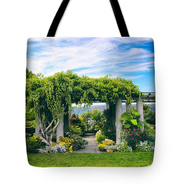 The Beauty Of Wave Hill Tote Bag by Jessica Jenney