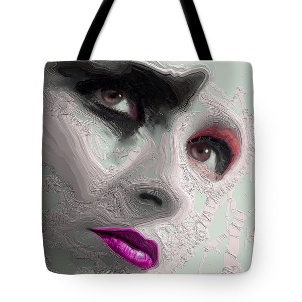 The Beauty Regime Pink Tote Bag by ISAW Gallery