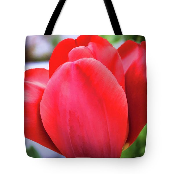 The Tulip Beauty Tote Bag