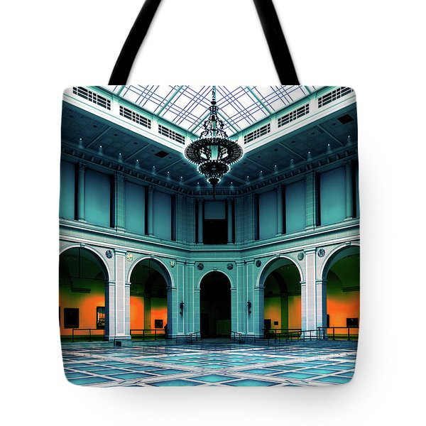 Tote Bag featuring the photograph The Beaux-arts Court by Chris Lord