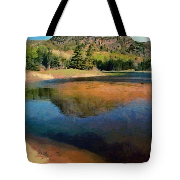 Tote Bag featuring the painting The Beehive by Jeff Kolker