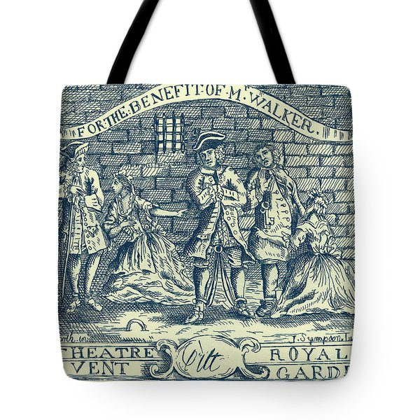 The Beggars Opera By John Gay Tote Bag