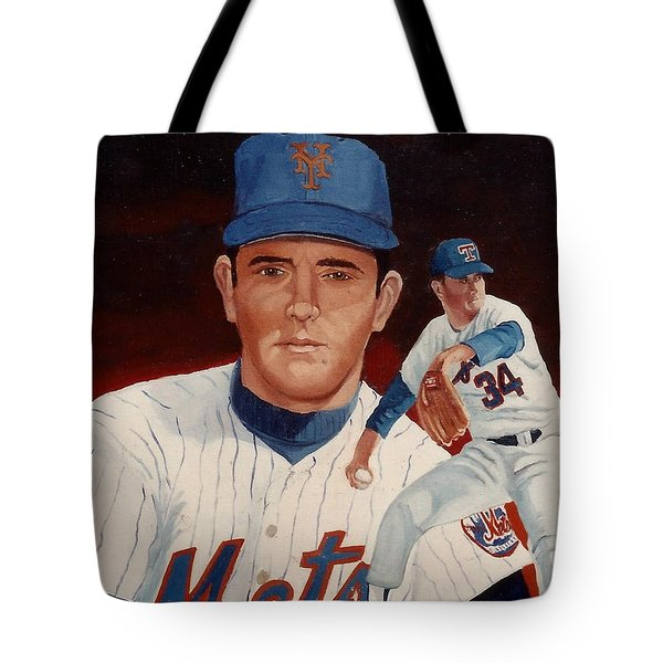 From The Mets To The Rangers Tote Bag