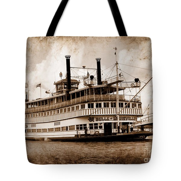The Belle Of Louisville Kentucky Tote Bag