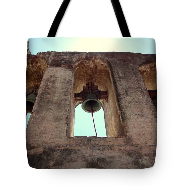 The Bells Of Capistrano Tote Bag