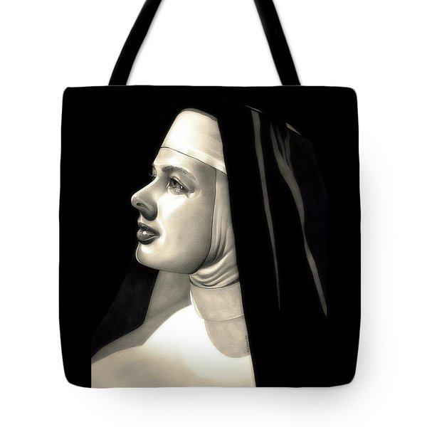 The Bell's Of St. Mary's  Tote Bag by Fred Larucci
