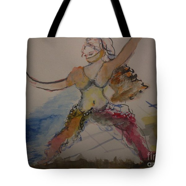 The Belly Dancer Tote Bag