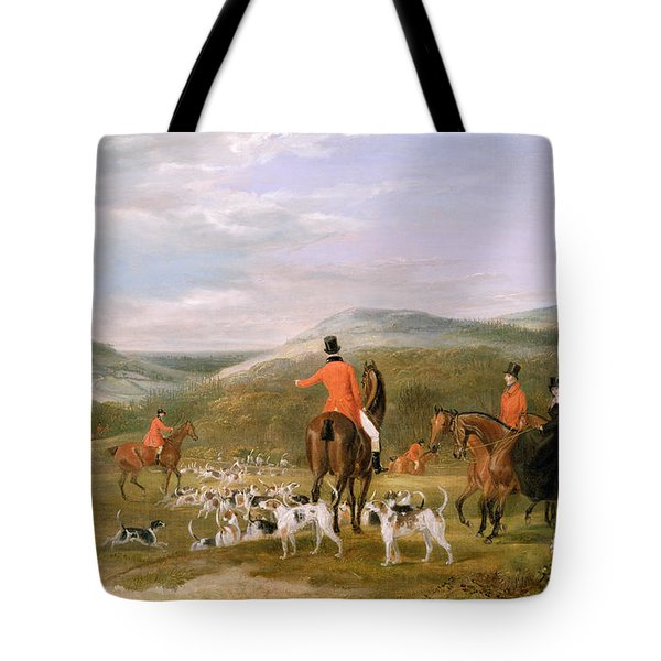 The Berkeley Hunt Tote Bag by Francis Calcraft Turner