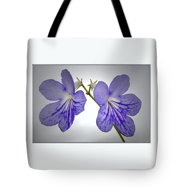 Tote Bag featuring the photograph The Betham Twins. by Terence Davis