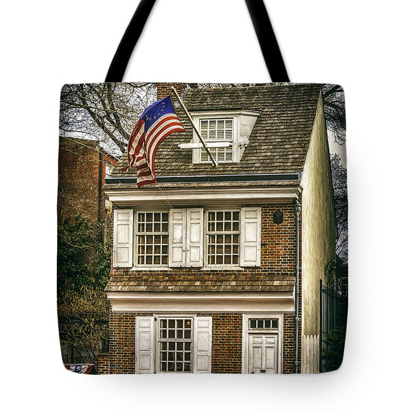 The Betsy Ross House Tote Bag