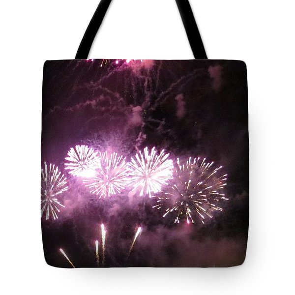 Tote Bag featuring the photograph The Big Big Boom by Aaron Martens