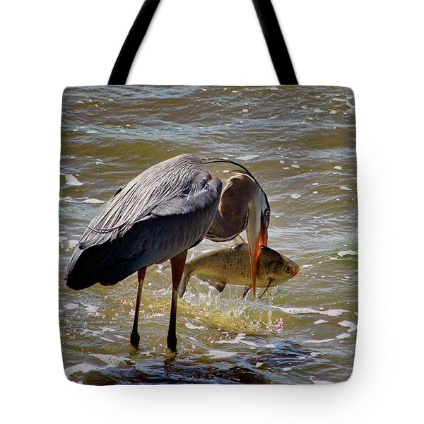 The Big Catch Tote Bag