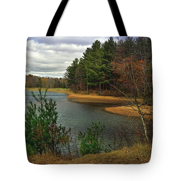 Tote Bag featuring the photograph The Big Eau Plein by Judy  Johnson