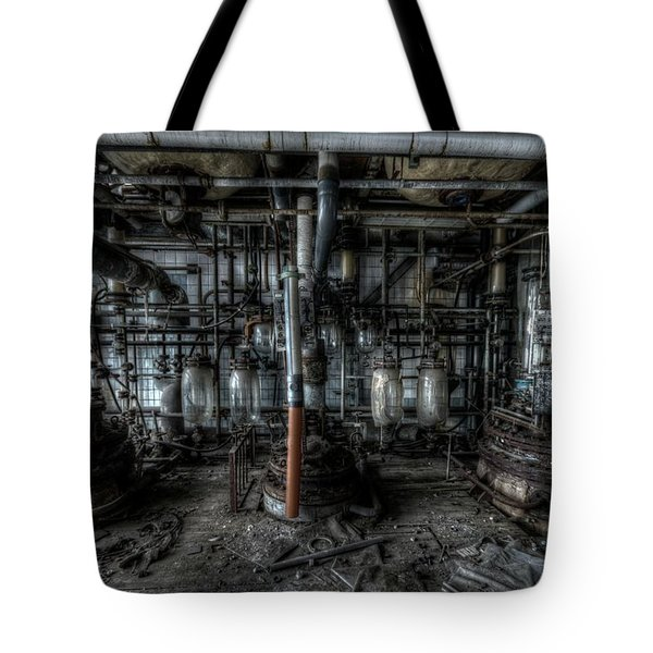 The Big Experiment  Tote Bag by Nathan Wright