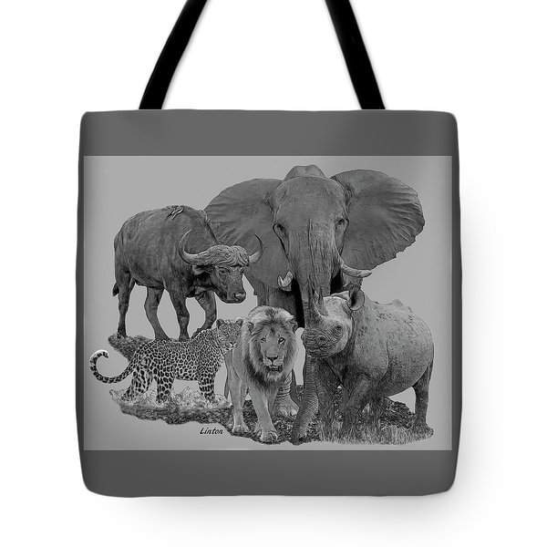 The Big Five Tote Bag