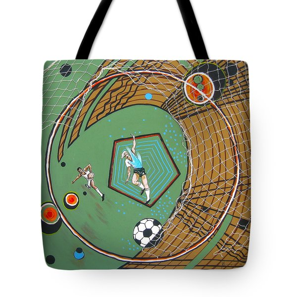 The Big Kick Tote Bag by V Boge