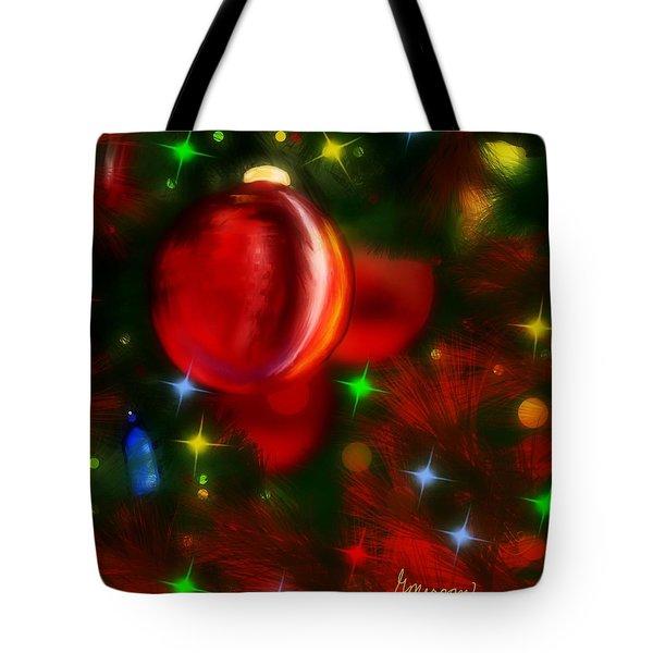 The Big Red Tote Bag