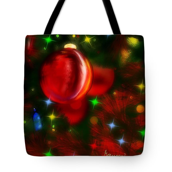 The Big Red Tote Bag