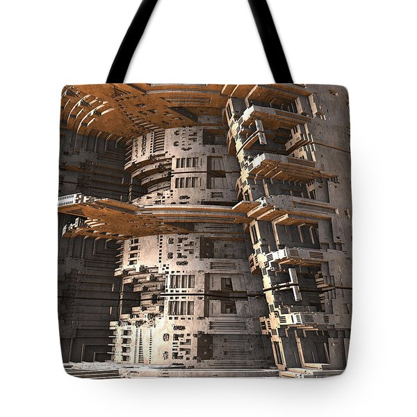 The Big Tower Tote Bag