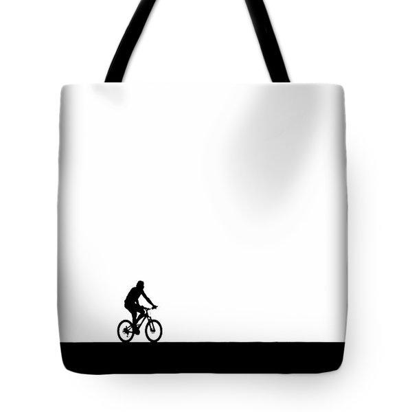 The Bike Ride  Tote Bag