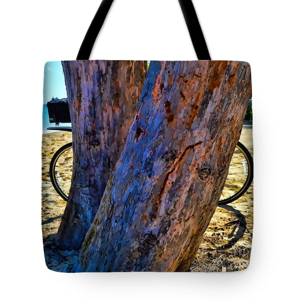 The Bike Version 1 Tote Bag