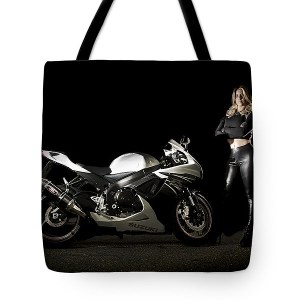 The Biker Tote Bag